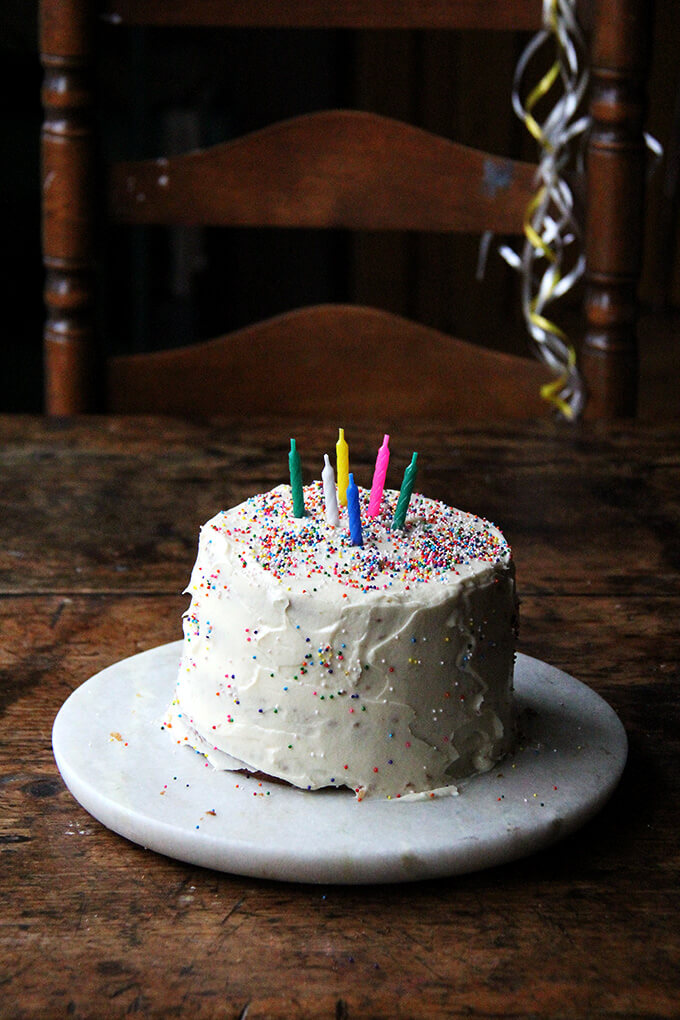 One-Bowl Buttermilk Birthday Cake