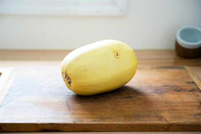 spaghetti squash, whole