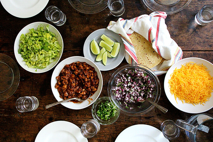 simplest tacos