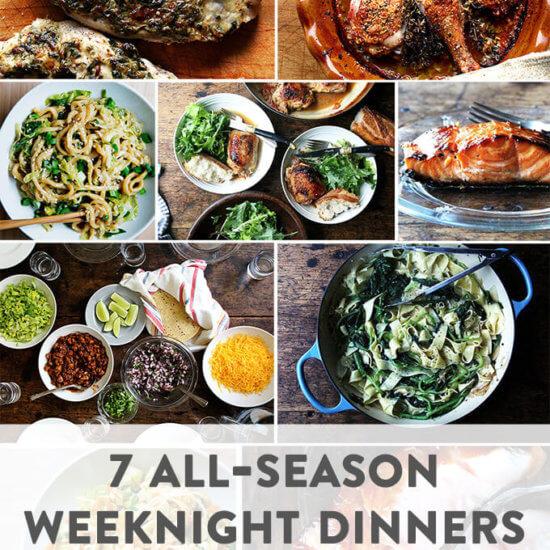 7 Weeknight Meals to Make Year-Round