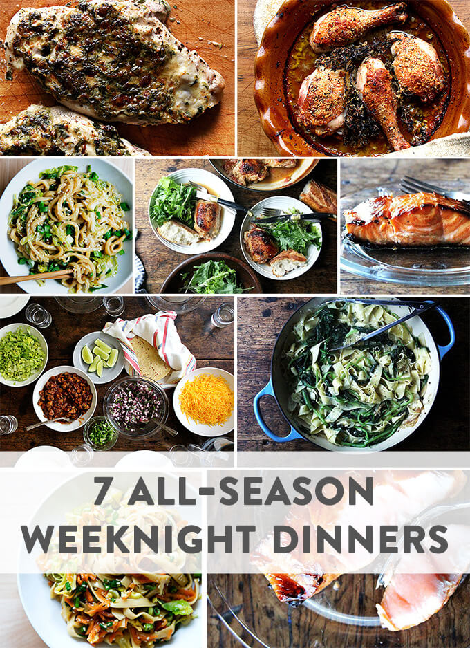 7 weeknight dinners to make year-round