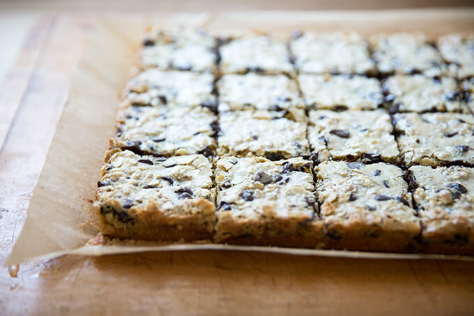 cut oat bars