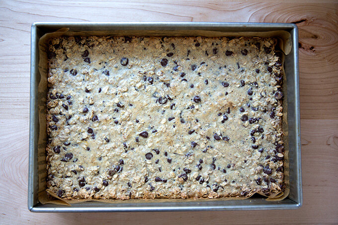 just baked oat bars