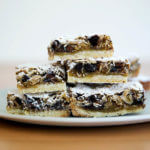 gooey oat bars