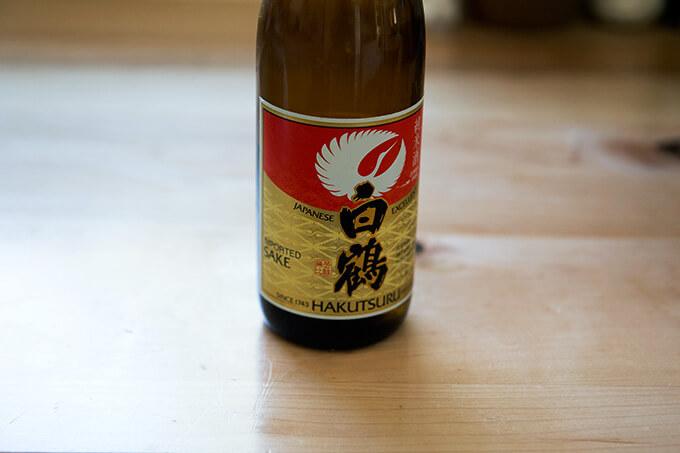 Sake, for steaming