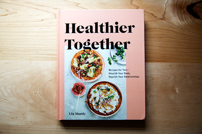 The Healthier Together cookbook.