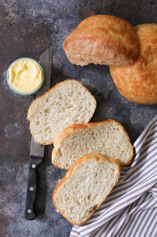 Domesticate Me's Peasant Bread