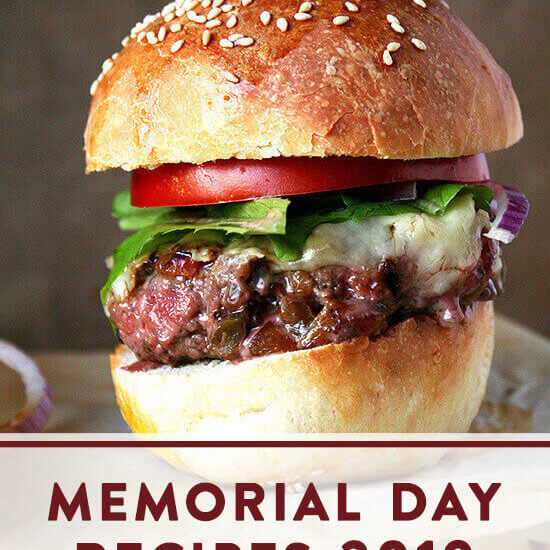 Recipes for Memorial Day Weekend