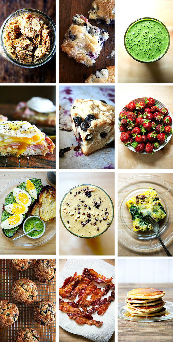 A montage of brunch images.