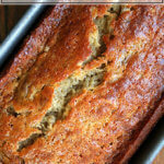 One loaf of the best banana bread.