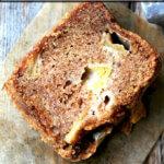 A slice of Teddie's Apple Cake.