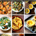 A montage of winter squash recipes.