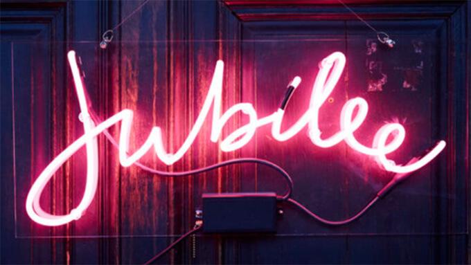 Jubilee sign