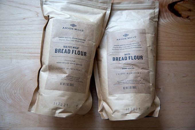 Anson Mills Flour.