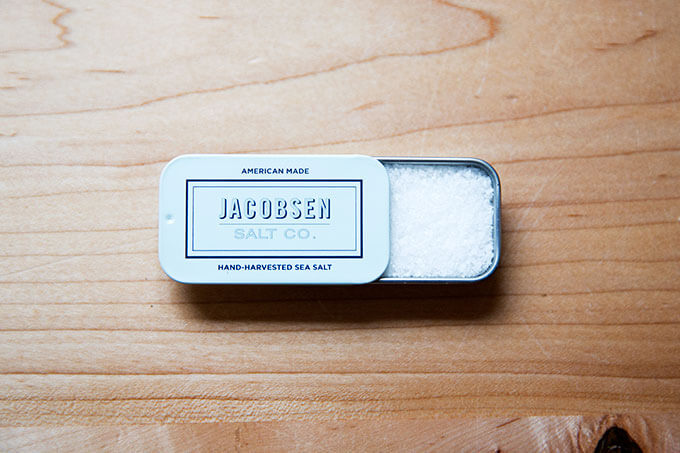 Jacobsen sea salt.