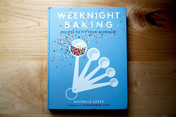 A cookbook: Michelle Lopez's Weeknight Baking