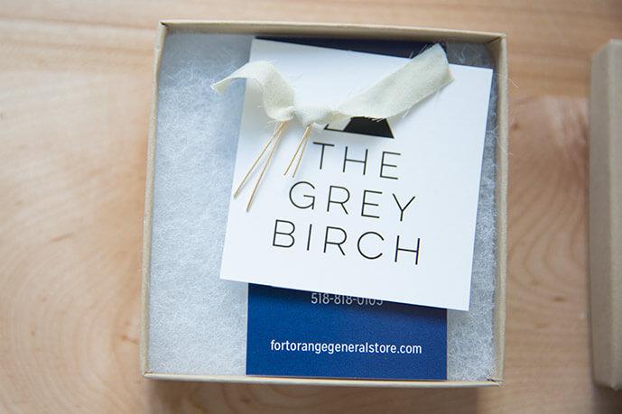 The Grey Birch Earrings