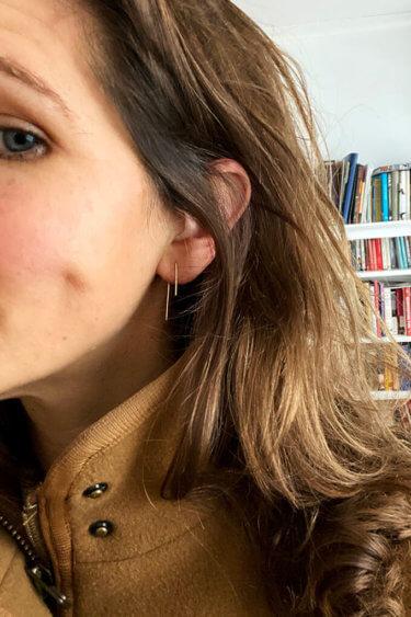 The Gray Birch Earrings