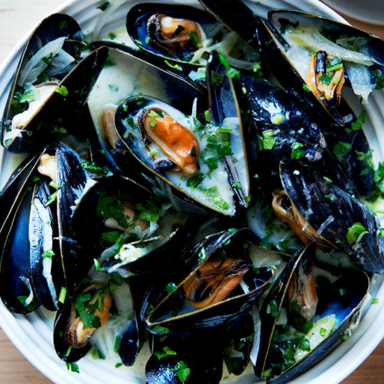 Balthazar's Simple Moules Marinière (Mussels)