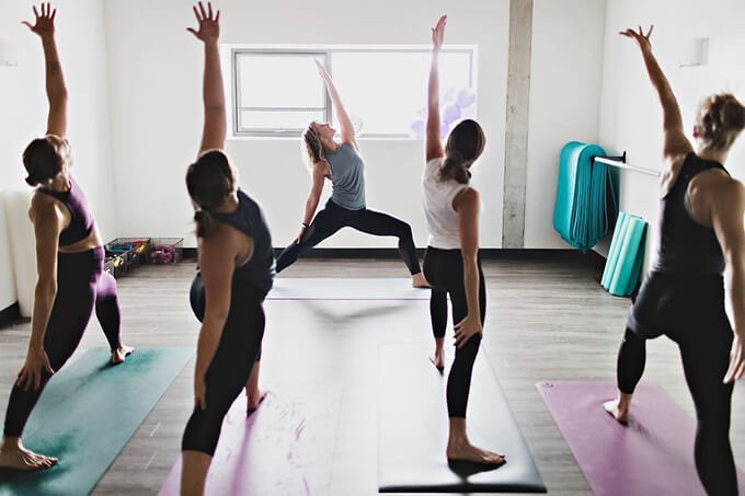 Studio 4 hot yoga