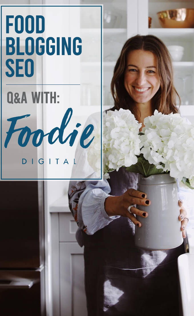 Food blogging SEO Q&A with the team of Foodie Digital.