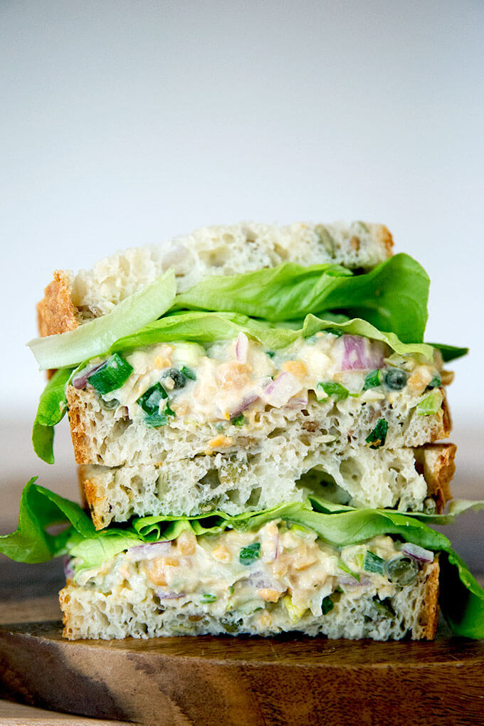 Vegan Tuna Salad Sandwich Alexandra S Kitchen