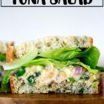 Vegan no-tuna tuna salad sandwiches.