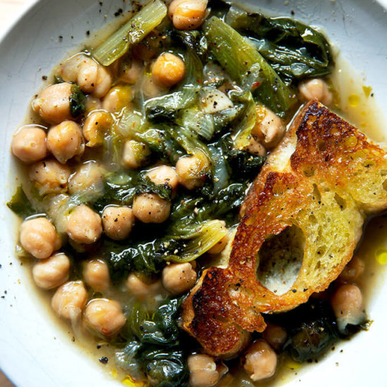 Chickpea and Escarole Soup