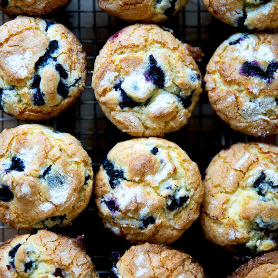 The Best Lemon-Blueberry Muffins