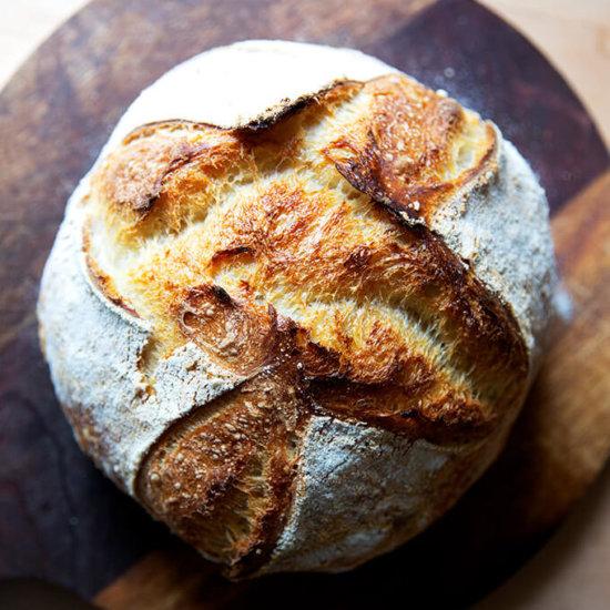 Favorite Easy Sourdough Bread (Whole Wheat-ish)