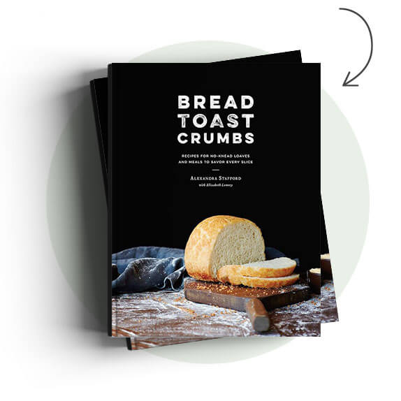 Bread Toast Crumbs cookbook cover