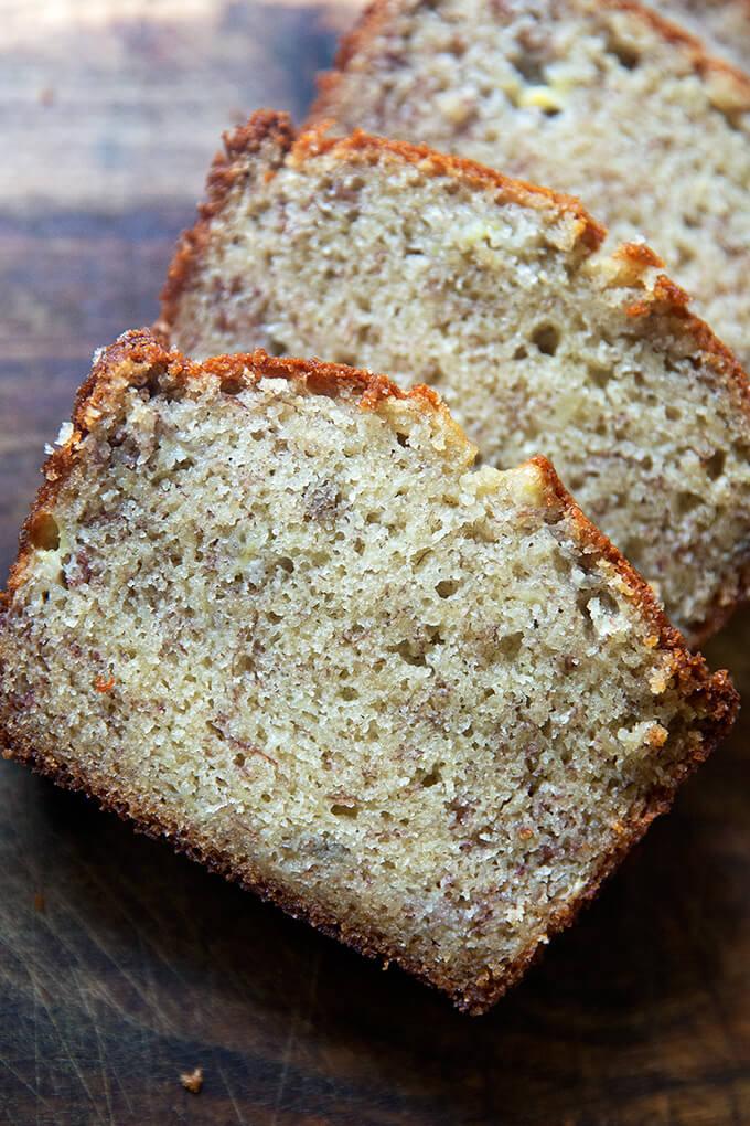 Mrs Myers S Sweet And Moist Banana Bread Alexandra S Kitchen