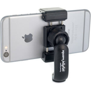 Smartphone tripod attachment for tripods.