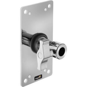 Plate for wall-mount tripod.