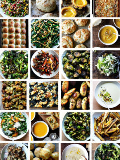 25 side dishes to make for Thanksgiving.