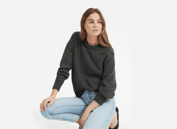 Everlane sweater.