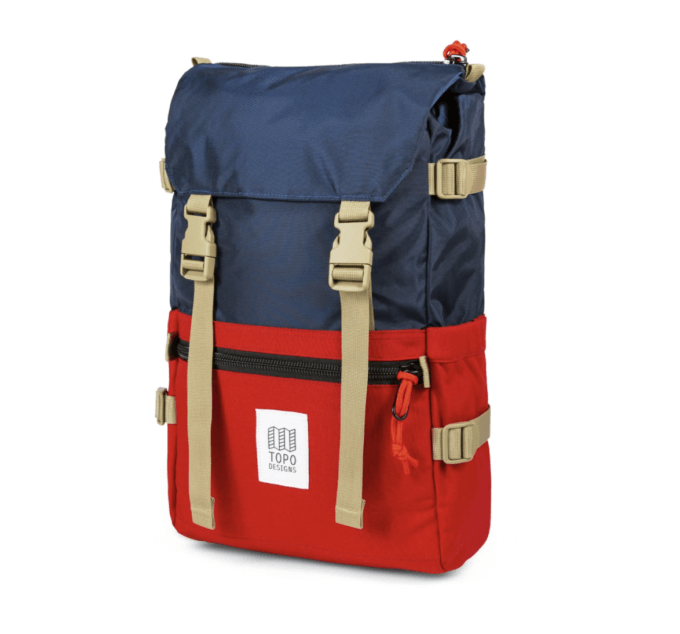 A Topo Backpack.