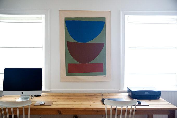 Upton wall print.