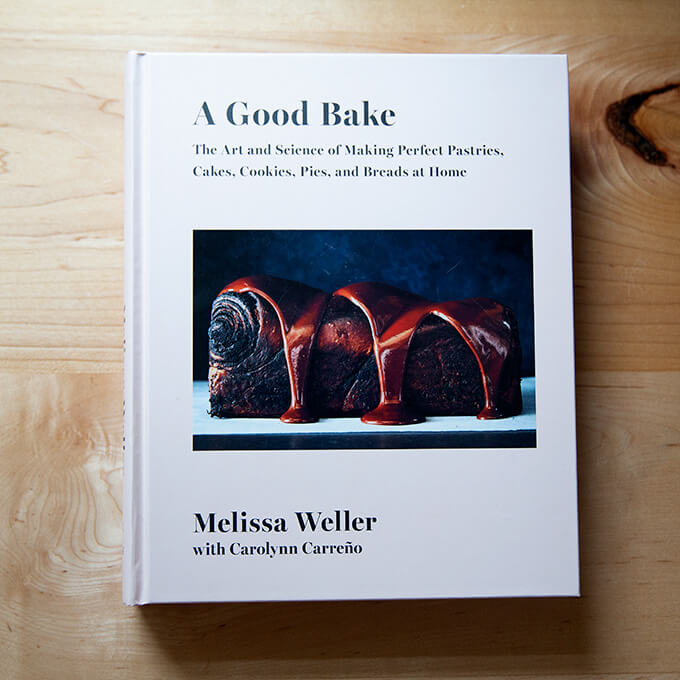 A Good Bake cookbook.