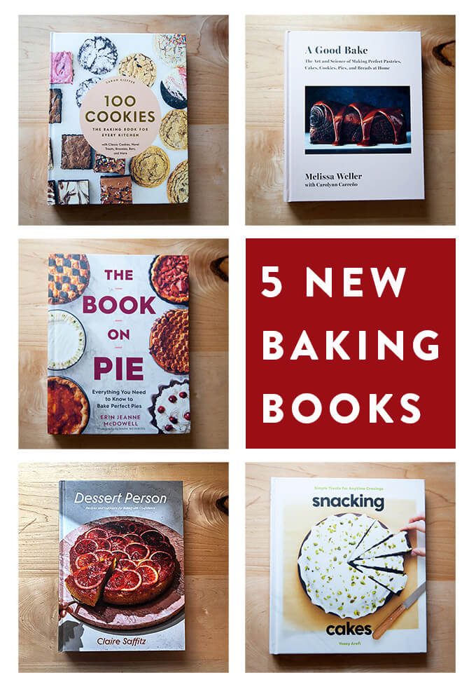 5 New Baking Books