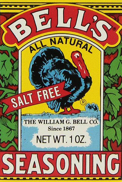 A box of Bell's Seasoning.