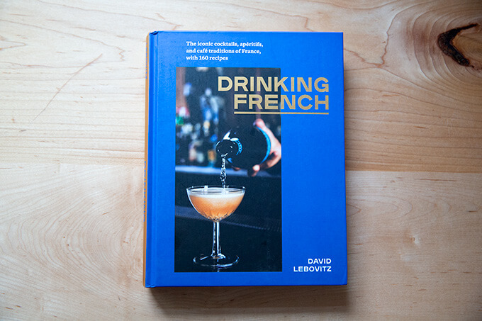 Drinking French cookbook.