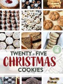 25 Christmas Cookies.