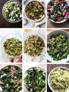 broccoli salad montage.
