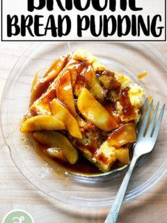 Brioche Bread Pudding.