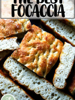 The best focaccia.