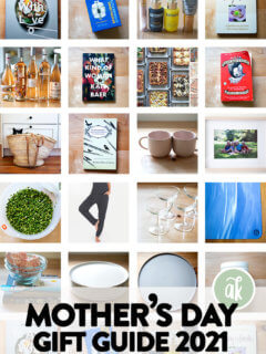 A montage of gifts for Mother's Day.