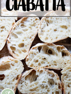 Ciabatta bread.