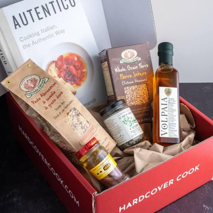 A cookbook subscription box.