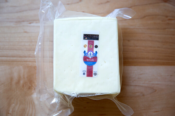 A blog of Wisconsin brick cheese.